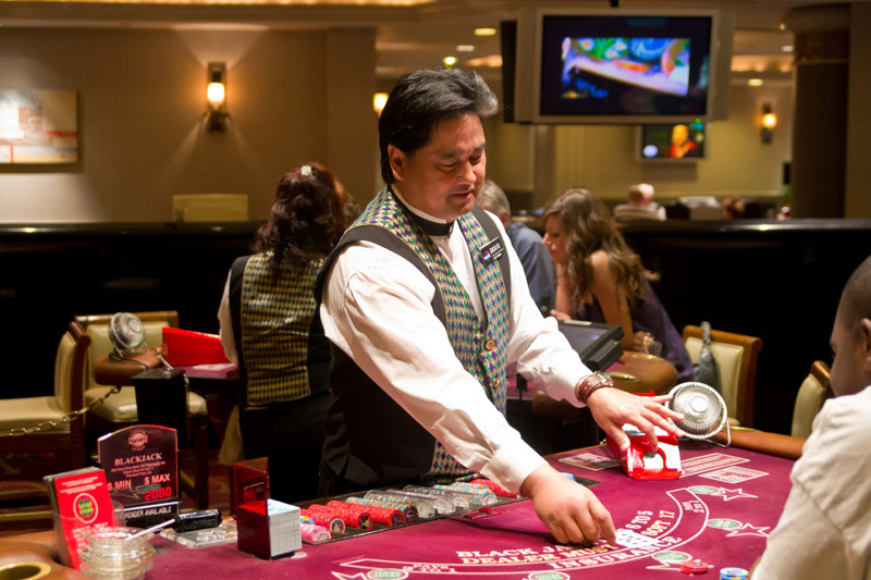 The Secret to Blackjack Betting
